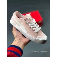 5aa4c745b5e5 Puma SMASH VULC CV Summer Fresh Series Concise Color Pure This New Combined  With Canvas Copuon