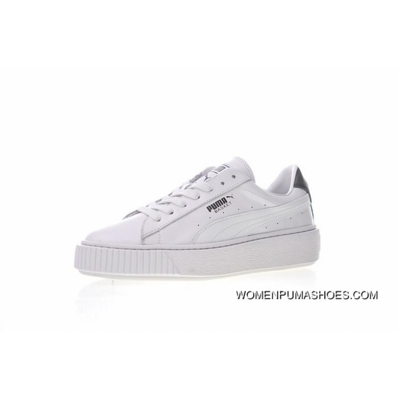 release date: 8b31b e2ca6 Latest Women Shoes All FULL GRAIN LEATHER Making Super Soft LINING Shoe Pad  Puma Basket Platform Euphoria Metal Rihanna 2.0 Flatform Shoes All-match ...