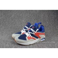 Copuon Puma Balze Shark Of Glory Athletic Red Blue Colours Honeycomb Real Picture