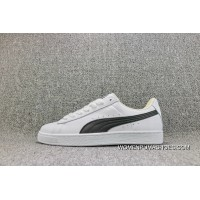 Puma Basket Classic Casual Retro Sneakers FULL GRAIN LEATHER White And Black Women Shoes And Men Shoes 354367-24 Top Deals
