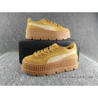 Puma Cleated Creeper Suede 2017ss Outdoor Shoes For Sale
