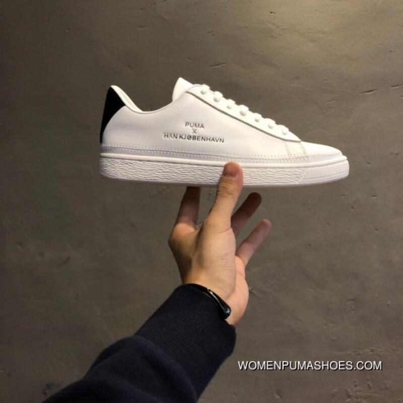 best authentic 9bf43 3add6 200 The FULL GRAIN LEATHER High Street Brand Collaboration System Denmark  Han Kjobenhavn X Puma Clyde Stitched Clyde Gold Tongue Series Retro  Sneakers ...