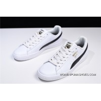 Free Shipping Hyx Puma 1 Clyde Core Foil Casual Sport Sneakers White And Black 364669-01