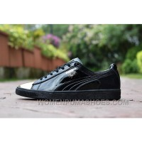 Puma CLYDE WRAITH KPU Black Gold Cheap To Buy 2HRWN