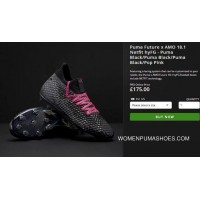 Puma Knit Future Has To Nail FG Brown Storm Soccer Shoes Future 18.1 NetFit HyFG Best