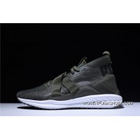 2 Function Puma IGNITE EvoKNIT HI Ignition Point Series High Jogging Shoes He Green Black 190456-0117 New Release