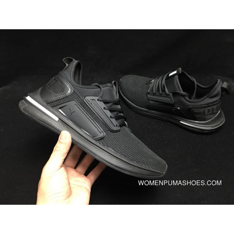 puma ignite women's black
