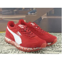 Puma Jamming Easy Rider Zoom Air Sport Shoes Particles Cushioning Running Shoes Billys Japan Limited 367832-03 Red Latest