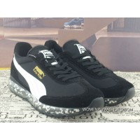Puma Jamming Easy Rider Zoom Air Sport Shoes Particles Cushioning Running Shoes Billys Japan Limited 367832-01 Black And White Discount