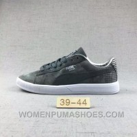 Puma Men Leisure Sneaker Md Outsole Pig Leather Grey Online 8HtBD