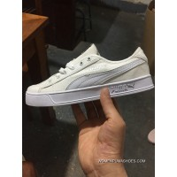 Puma Campus Purchell All White Discount