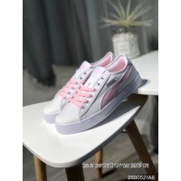 New Release Puma Purchell SMASH V2 VULC CV Canvas Sport Sneakers White Pink