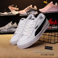 Top Deals Puma Purchell Leather SMASH VULC CV Concise Color And Leather Combined With The New