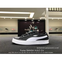Puma Purchell SMASH VULC CV Leather Summer Fresh Series A Concise Pure With The Size Color And Leather Combined With New SKU 367308-01 Best