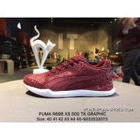 Puma R698 XS 500 TK GRAPHIC Men Shoes High Quality Joint Casual Sport Shoes 360208-03 Size-90325330TS Top Deals
