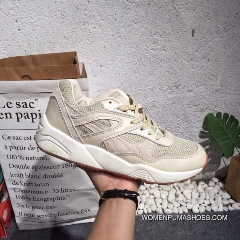uk availability 7ede2 31cde Puma R698 BLOCK Classic Retro Running Points And Familiar R698 Suede Shoes  Type Contour And Fabric Shoes Body Carrying Trinomic Cushioning Insole SIZE  ...