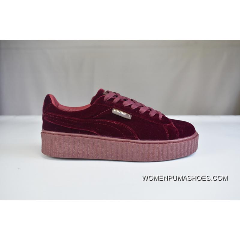 the latest 953a8 e7972 200 Welcome To Archives Mouths Consulting Red Velvet Puma Rihanna Flatform  Shoes Creeper Fashion Sneakers In 364466-02 Super Deals