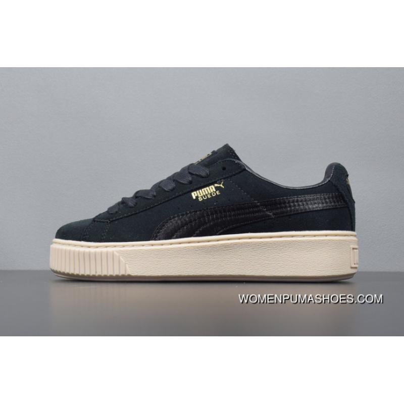 cheap for discount ee248 742dc Puma Suede Platform Rihanna Flatform Shoes 365828-05 Online