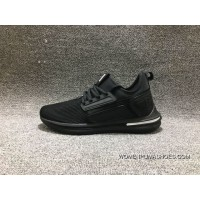 Puma Running Shoes All Black New Year Deals