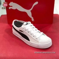 Discount Puma Purchell SMASH V2 VULC CV Canvas Sport Sneakers 365968-02 White Black