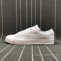 Puma SMASH V2 VULC CV Canvas Sneakers 365968-03 Size Free Shipping