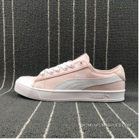 Women Free Shipping Puma SMASH V2 VULC CV Canvas Sneakers 365968-05 Size