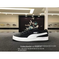 PUMA SMASH V2 VULC CV Women And Men Casual Canvas Sneakers 365968-001 Size9041 New Style
