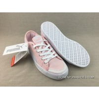 Puma Purchell SMASH V2 VULC CV Canvas Sport Sneakers Pink White 365968-05 Best