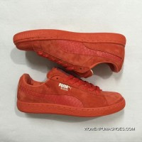 Puma Sneakers Snakeskin Red Latest