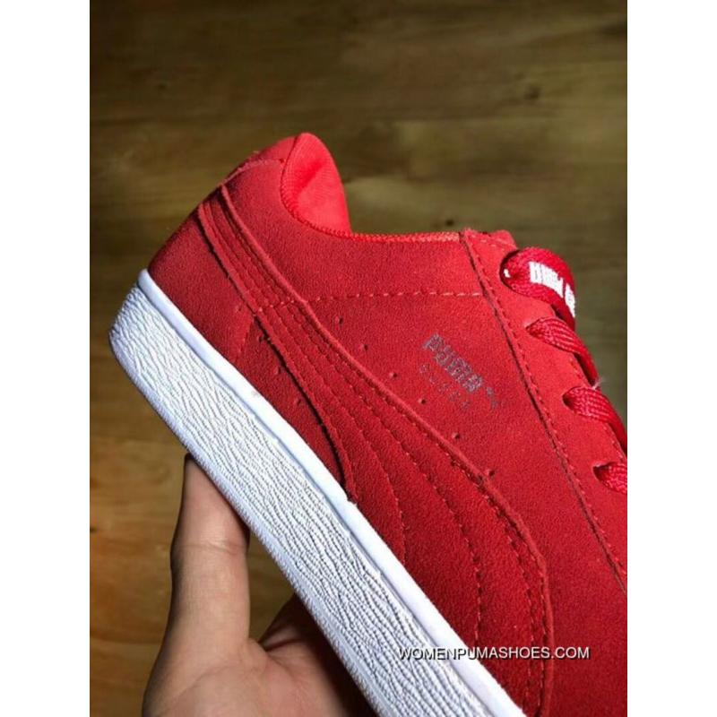 caca9f2b06de PUMA SUEDE X TRAPSTAR Red Joint Limited Edition SKU 361500-02 Size ...