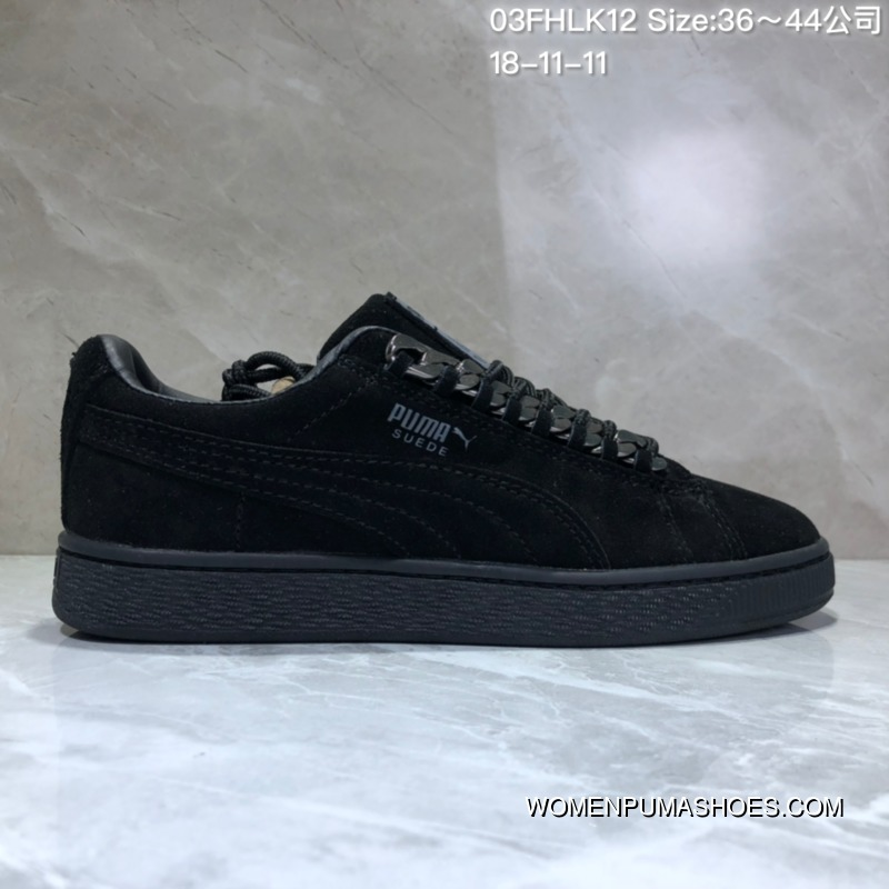 premium selection f1d60 a76e3 Puma Suede Classic X Chain The Fiftieth Anniversary Of Paragraph 367391-01  Fifty Anniversary Fashion Sneakers The Major Star Have Feet 03Fhlk12 ...