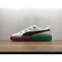Version Puma Platform Candy Princess Sw The Unicorn Collaboration The Crystal Sneakers Watermelon Colorways 366135-01 Super Deals