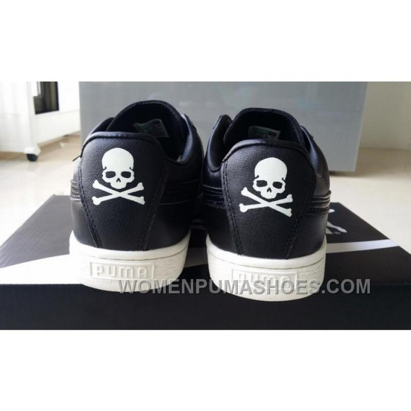 classic fit 8a548 bce00 Puma Suede Classic Skeleton Soft Sheepskin Leisure Sneaker Black Women Men  Super Deals