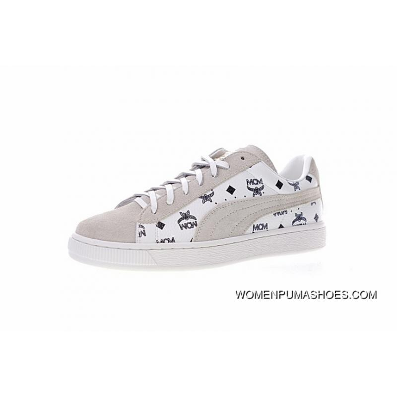 new product 19b7f a53d1 Made In Guangdong FULL GRAIN LEATHER The 50th Anniversary Of The Limited  High German Luxury Brand Collaboration MCM X Puma Suede For The 50th ...