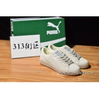 313 Blocks Mono 3 M Puma Suede Classic Beige White Jelly Bottom Sneakers Size 362101-09 Latest