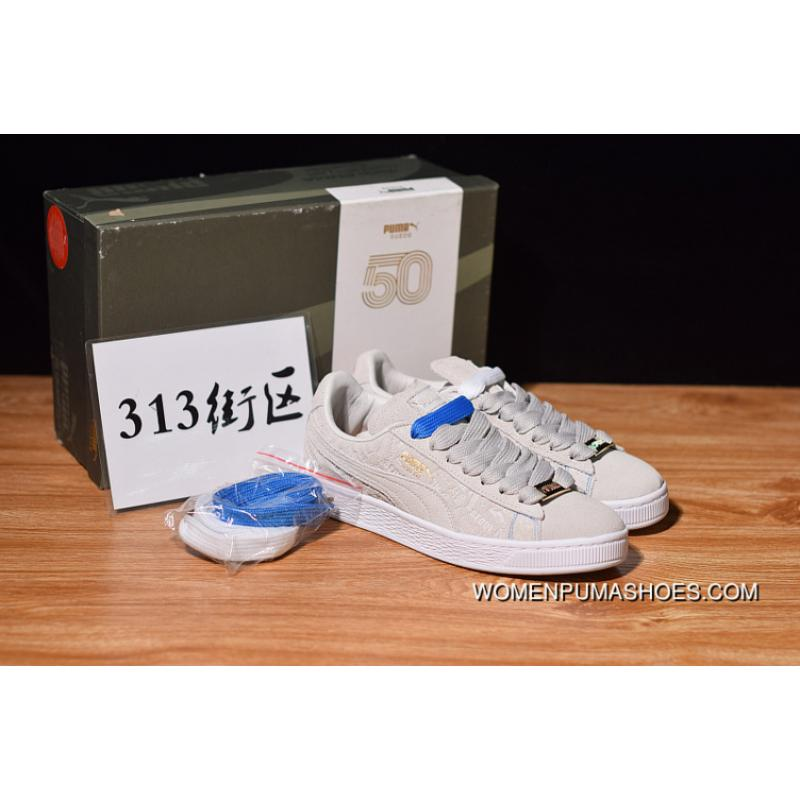 the best attitude d0ef2 990f1 Online 313 Blocks Limited Collaboration Puma Suede Classic The 50th  Anniversary Of The Limited Low Retro Collaboration Sneakers SKU 366294-01  Sezi ...