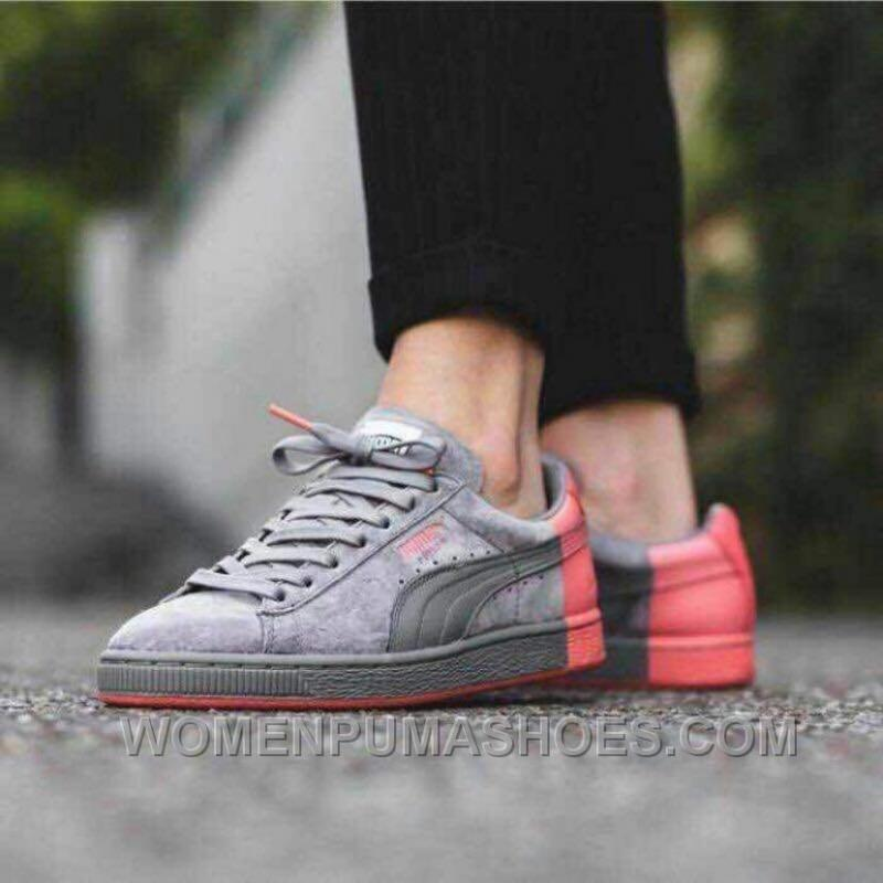 hot sale online 3a788 e2988 Puma Suede X Staple Dark Grey Red 36-44 Super Deals PHS7T