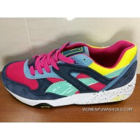 Puma Trinomic R698 Green Pink Blue Women Shoes And Men Shoes For Sale