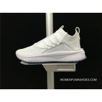 New Style The 365489-02 Puma Tsugi Jun Cubism Series Knit Socks Set Foot Comfortable Summer Mesh Breathable Running Casual Sport Shoes All White Women Shoes And Men Shoes