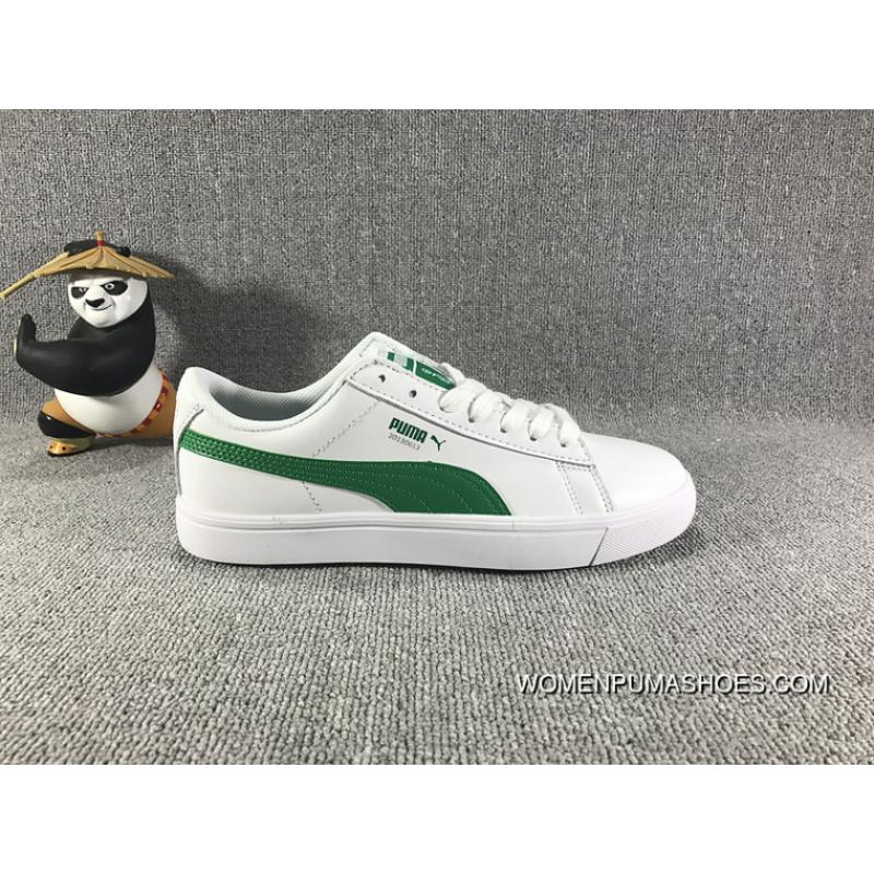 newest 37168 f9252 PUMA X BTS COURT STAR 35.5-44 WHITE GREEN WOMEN MEN Discount