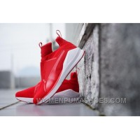 Puma X Rihanna Fenty Trainer HI Red Discount W8nz6