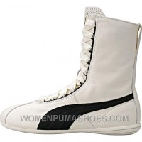 Puma WMNS Eskiva Hi X Rihanna - Whisper White/Black Cheap To Buy CDAM5