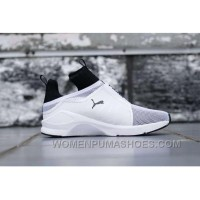 Puma X Rihanna Fenty Trainer HI White Black Super Deals PcQna