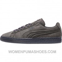 Puma Suede Mono Embossed + Iced (Mens) - Dark Shadow For Sale Y88NF