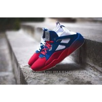 Only 100 Pairs Limited Sneakerness X PUMA Blaze Of Glory Sock Paris Patriot Red Blue Women/men Christmas Deals NyMaf