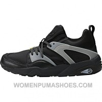 Puma Blaze Of Glory Leather - Black Discount NW48Rp