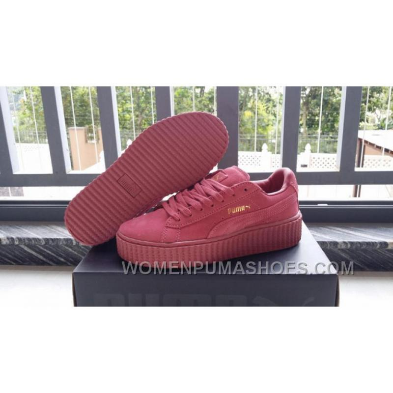 info for bf6d1 bc9a7 Puma Rihanna Suede Creepers Fenty By Rihanna 36-44 Women/men Super Deals  PyKpa