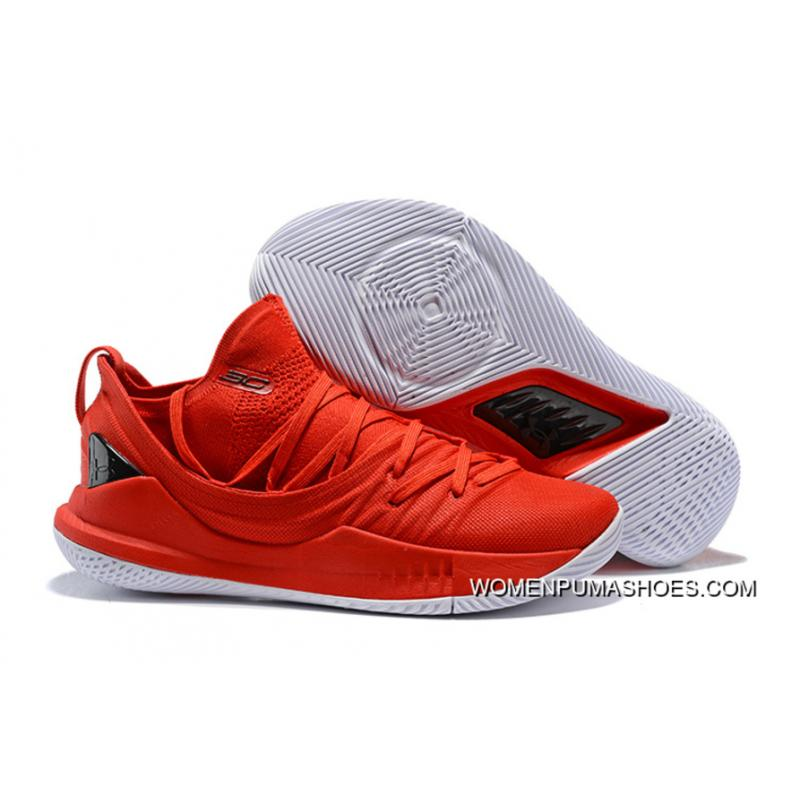 quality design b4d36 0ea4b Curry 5 UA Curry 5 Red White 2018 Outlet