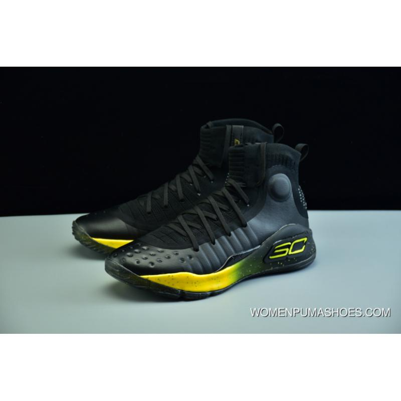 5f35bf9f201 ... Under Armour Ua Curry 4 Black Yellow Men s Basketball Shoes Top Deals  ...