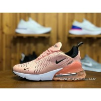 180 Nike Air Max 270 Participants In God Shallow Pink Zoom Air Women Running Shoes Size AH6789-600 For Sale